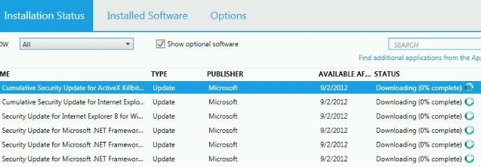 VPN Client stuck downloading 0%