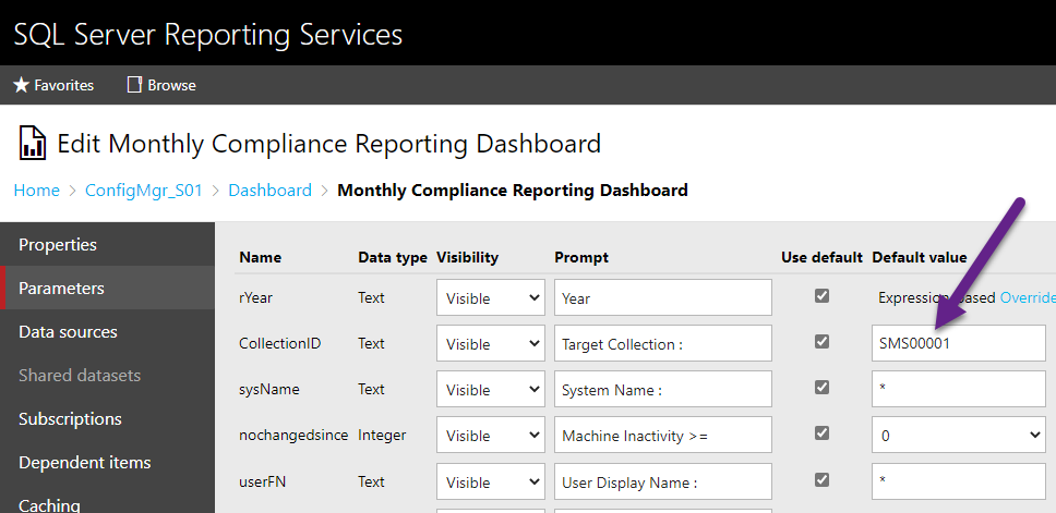 osd365-Windows-Monthly-Patch-compliance-dashboard-13-default-collection