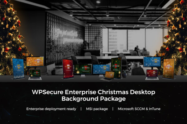 WPSecure Christmas wallpaper cover image