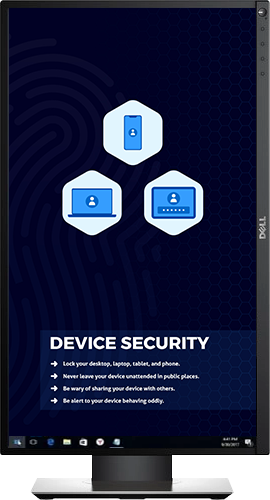 Device Security - Desktop Cyber Security wallpaper background
