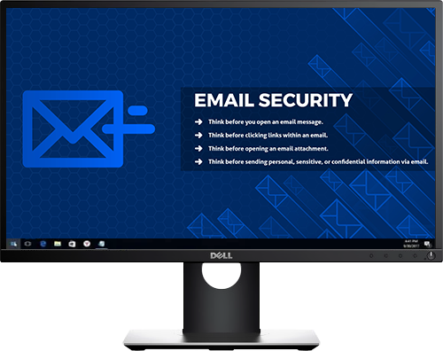 Email Security - Desktop Cyber Security wallpaper background