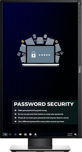 Password Security - Desktop Cyber Security wallpaper background
