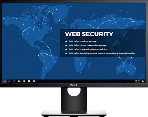 Web Security - Desktop Cyber Security wallpaper background