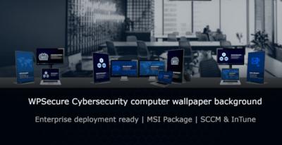 WPSecure Cybersecurity computer wallpaper