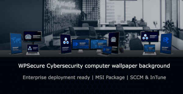 WPSecure Cybersecurity computer wallpaper